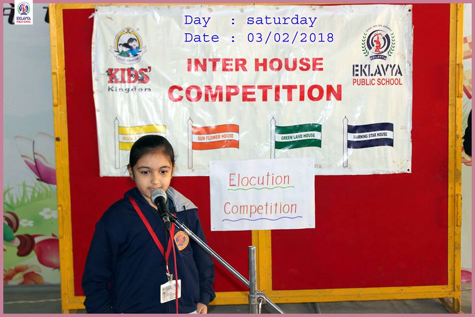 elocution competition for kids