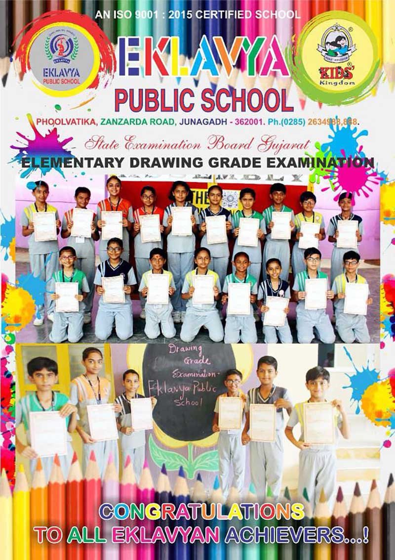 Participating In Elementary Drawing
