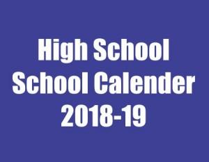 HIGH SCHOOL FORECAST 2018-19