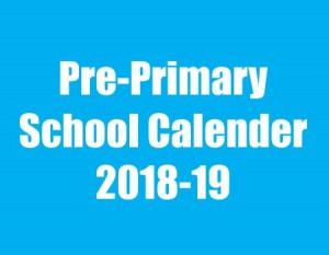 PRE-PRIMARY FORECAST 2018-19