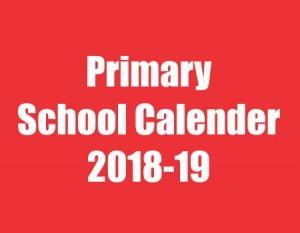 PRIMARY 1 TO 7 FORECAST 2018-19