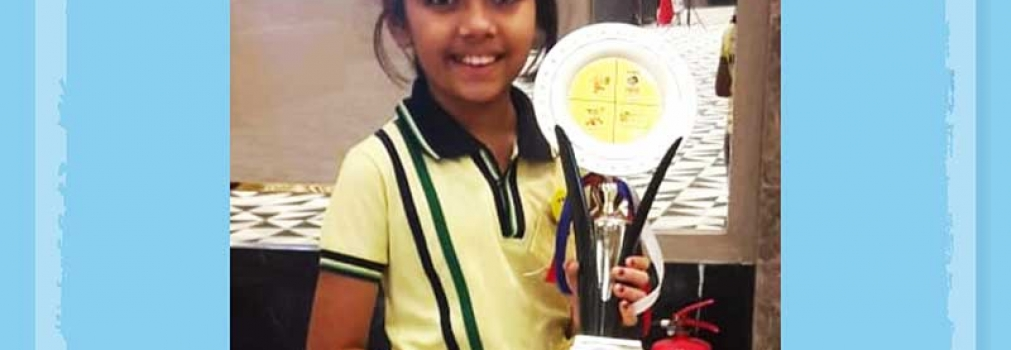 Winner at Mental Arithmetic Competition